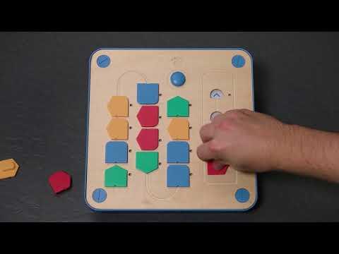 Cubetto - en enkel version av robotprogrammering