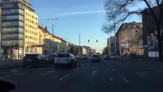 Kapuvár - Győr - Campona - Százhalombatta - Duna Pláza - Budaörs Tesco útvonal - time-lapse - HD