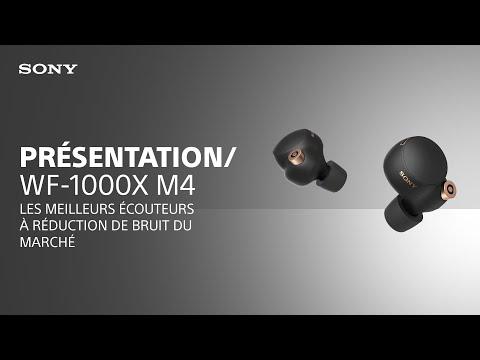 Découvrez les écouteurs WF-1000XM4 Sony dotés du meilleur système à réduction de bruit du marché
