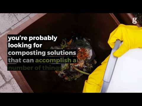 5 Cheap and Easy Solutions For Small-Space Composting