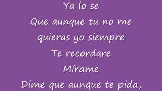 Ya lo Se  Jenni Rivera Con Lyrics   YouTube