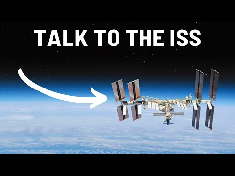Listening to the International Space Station (ISS) repeater using a Icom IC-705
