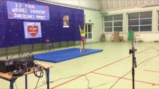Występ Gabrieli Krawiec  WOŚP Rojewo 2017
