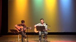 Plácido Montenegro y Carlos Salgueiro a prol da Escola María Soliña da India
