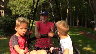 Jett's Sets: Web Riderz Outdoor Swing & Spin