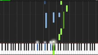 A Tender Feeling - Sword Art Online [Piano Tutorial] (Synthesia) // Goku Anime Piano