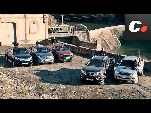 Ford Ranger, Nissan Navara, Toyota Hilux, Mitsubishi L200, Isuzu D-Max | Prueba Pickup | coches.net