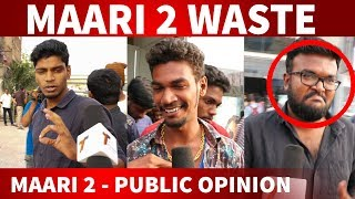 Maari 2 Review with Public | Dhanush | Sai Pallavi | Maari 2 Public Opinion