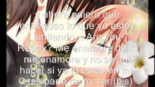 SONYK El Dragon - Me Enamore De Tí (Letra)