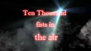 Disturbed - Ten thousand fists Lyrics [HD]