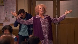 Nan supports the Tenants' Association - Catherine Tate's Nan: Episode 2 Preview - BBC One Christmas