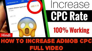 How to get high cpc in admob 2018 in india videos / InfiniTube