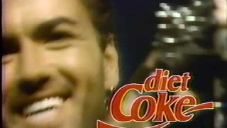 George Michael Diet Coke commercial 1989 better quality (Rare Video)