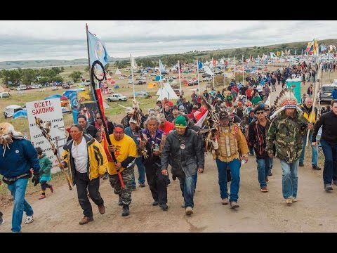 Jordan On Calm Before Standing Rock Storm New Music Video