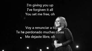 Adele - Send My Love (To Your New Lover) español-ingles(lyrics)traducción