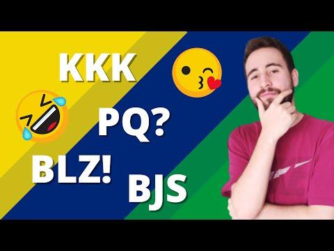 Por que os brasileiros falam KKK? Siglas da internet em Português | Vou Aprender Português