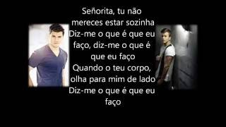 David Carreira et Mickael Carreira - Señorita paroles (letras)