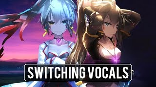 Nightcore | Castle ✗ Sippy Cup「Switching Vocals」