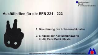 Ausfullhilfe Fur Efb 221 223 Youtube