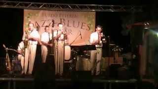Hot Jazz Band 2014.07.26 Bükfürdő, a Fürdő Étterem Teraszán