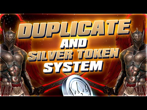 Duplicate and Silver Token System I Raid Shadow Legends