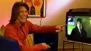 David Bowie Answers Fan's Questions from Hotel Room in Austria