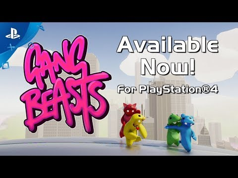Gang Beasts - Available Now!   PS4
