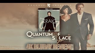 Quantum of Solace 4K Bluray Review