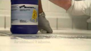Slippery Bathroom Floor - Tile Treatment
