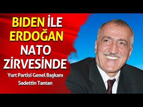 BIDEN İLE ERDOĞAN NATO ZİRVESİNDE