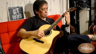 Wally Gonzales on Phoebus Guitar