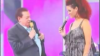 Raul Gil Tesourando a Elen Wilson