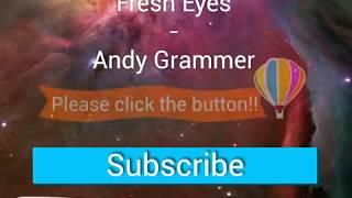 Fresh Eyes  Andy Grammer lyric VideoHD