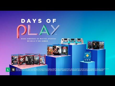 Promoção Days Of Play: de 3 a 17 de junho | PS4