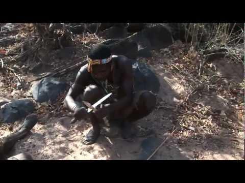 Tribal hunt in Tanzania, Africa (Hadzabi tribe)