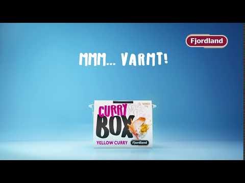 Fjordland BOX Yellow Curry