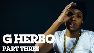 "G Herbo (Lil Herb) On Chicago Violence & Why He's Not A ""Drill"" Rapper (Interview Part 3/3)"