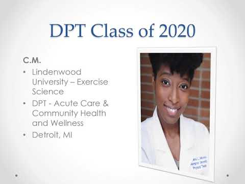 Hampton University Department of Physical Therapy. Class of 2020