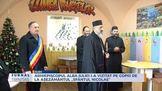 """Arhiepiscopul Alba Iuliei i-a vizitat pe copiii de la Asezamantul """"Sfantul Nicolae"""""""