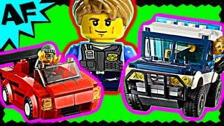 Lego City HIGH SPEED CHASE 60007 Stop Motion Build Review