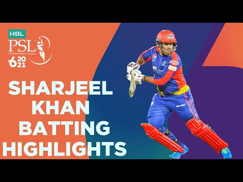 Sharjeel Khan Batting Highlights | Lahore Qalandars vs Karachi Kings | HBL PSL 6 | Match 11 | MG2T