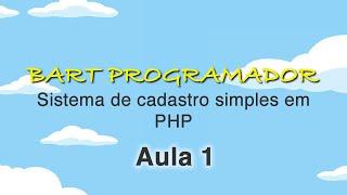 Aprenda a construir um Sistema de cadastro Simples em PHP com JSON - PHP 1
