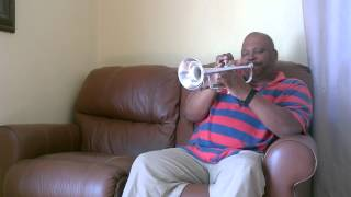 "Neil plays jazz trumpet ""The Latin Mix"""