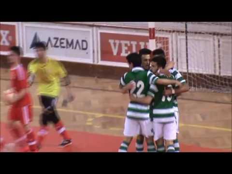 15/16 Golos 1ºJogo Meia-Final - Campeonato Nacional Sub20 - S.L.B 3 vs SCP 4