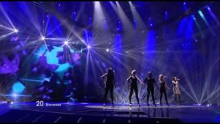 Maja Keuc - No One (Slovenia) - Live - 2011 Eurovision Song Contest Final