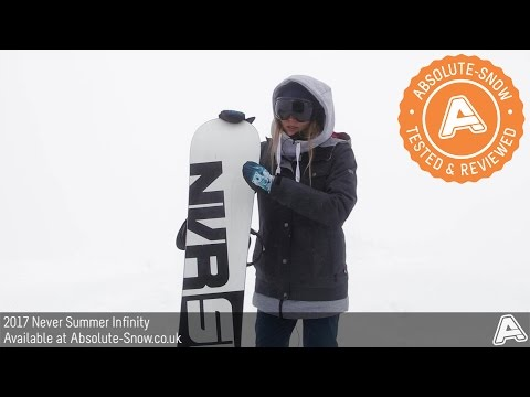 2016 / 2017 | Never Summer Infinity Snowboard | Video Review