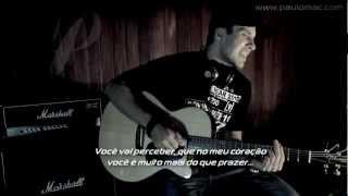 Mais que prazer - acústico - Paulo Mac [HD]