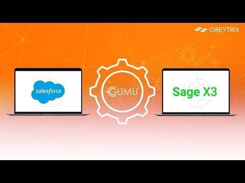 GUMU™ Integration for Salesforce with Sage X3