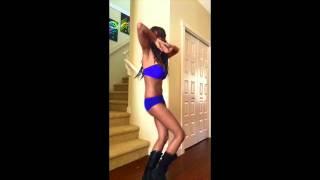Gogo Dancing to Kieza Hideaway
