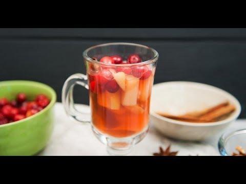 Напиток с яблоками и клюквой | Ужин? Не проблема!